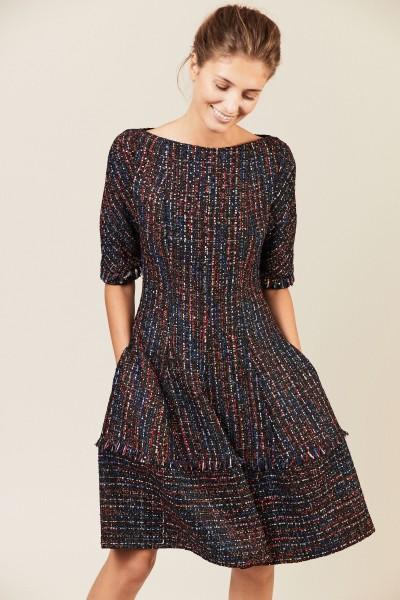 Tweed-Kleid mit Pailletten 'Northside2' Multi