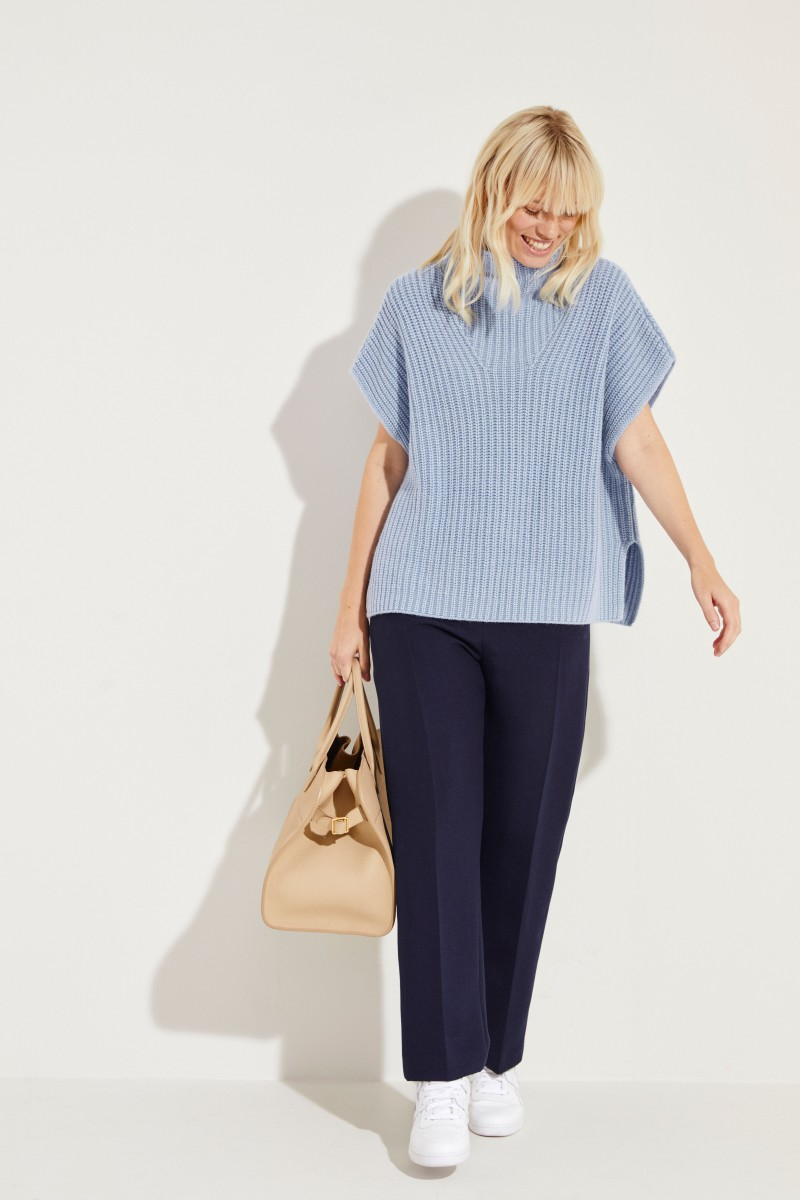 Cashmere-Pullover 'May' Blau