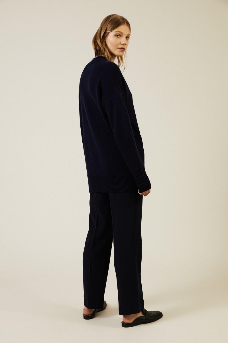 Cashmere Cardigan 'Cyprus' Marineblau