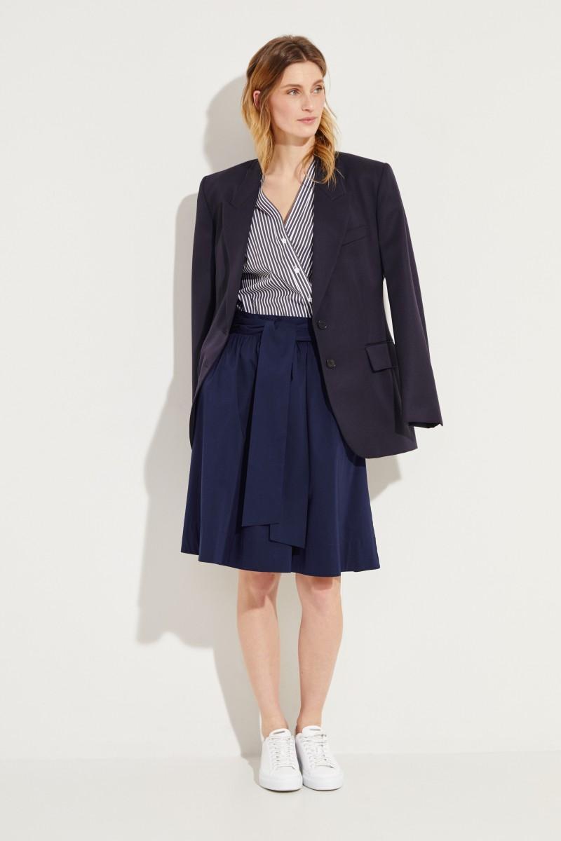 8ed1ffe9c3 Short skirt with binding detail Navy Blue | Mini skirts | Skirts | Clothing  | unger-fashion.com