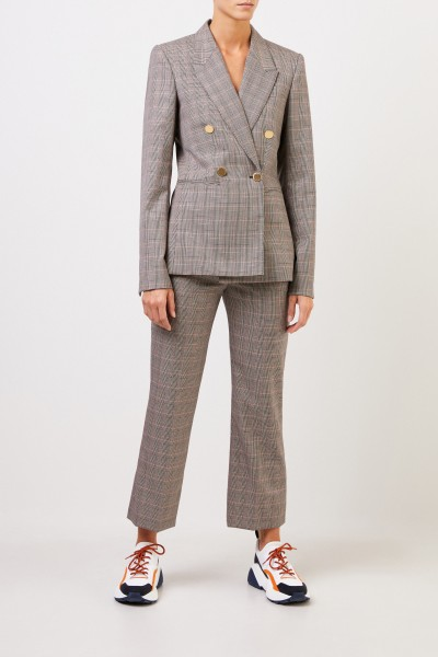 Stella McCartney Karierter Blazer 'Beaufort' Multi