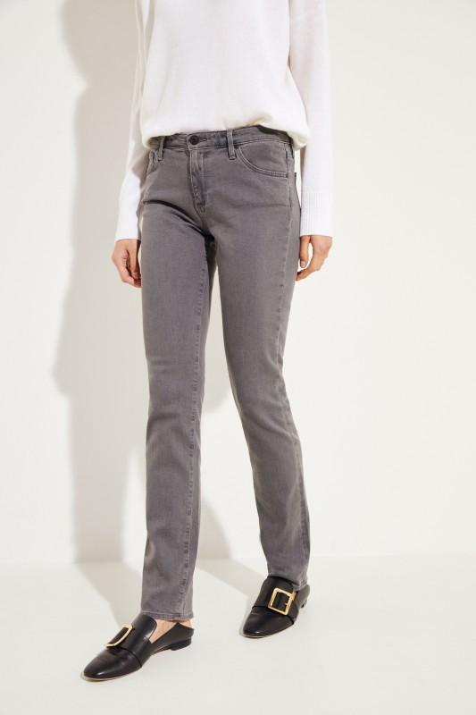 Straight Leg Jeans 'The Harper' Grau