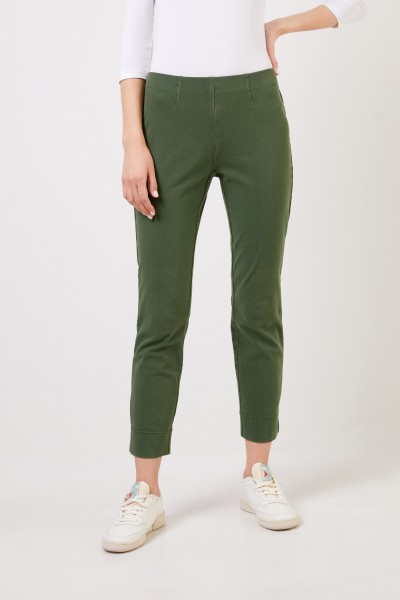 Seductive Cotton trousers 'Sabrina' Green