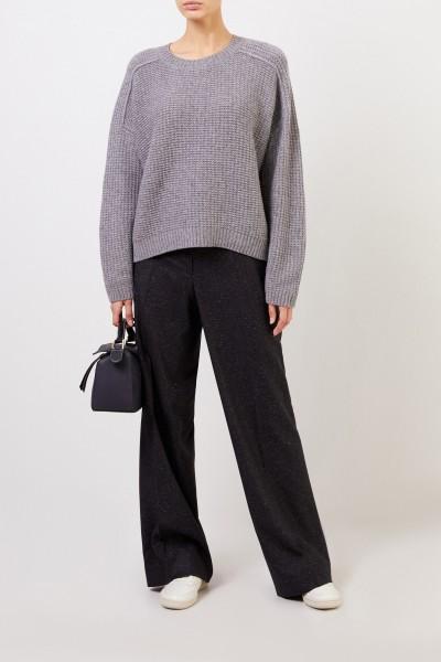 Iris von Arnim Cashmere-Pullover 'Saliano' Grau