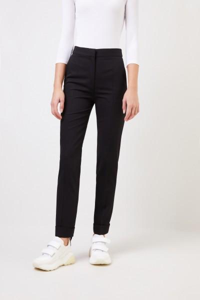 Stella McCartney Wool pants 'Emery' Black