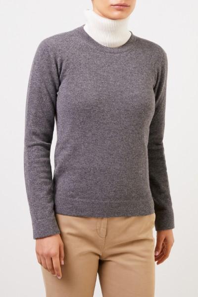 Agnona Classic Cashmere Sweater Grey