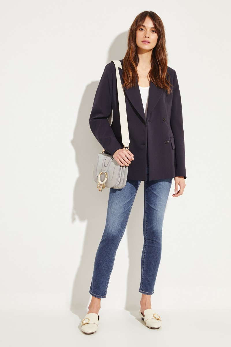Jeans 'The Prima Ankle' Blau