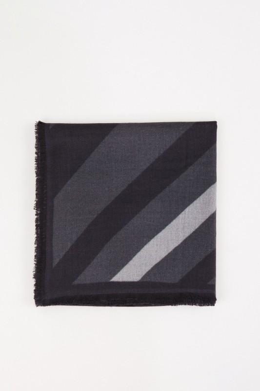 Iris von Arnim Cashmere-Tuch 'Raik' mit Muster Schwarz/Multi