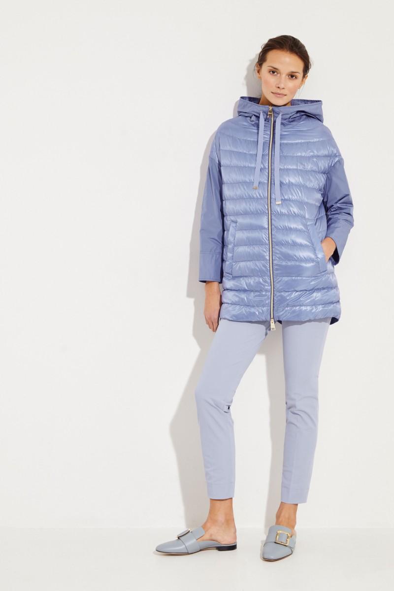 Light Down Coat Blue