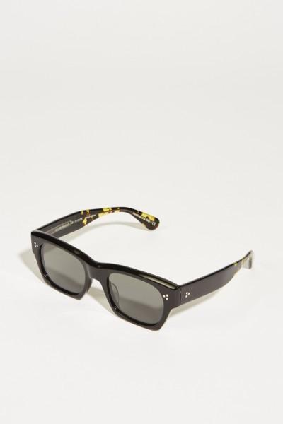 Oliver Peoples Sonnenbrille 'Isba' Schwarz