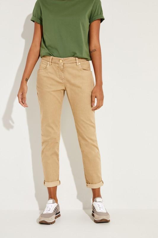 Slim Fit Jeans Beige
