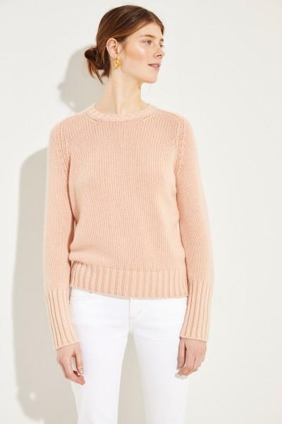 Cashmere-Pullover 'Mariella' Rosé