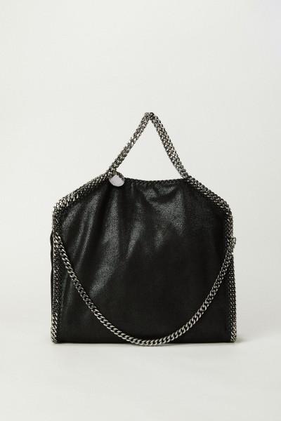 Tasche 'Falabella 3 Chain' Schwarz