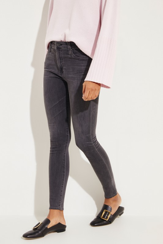 Skinny Jeans 'The Farrah' Anthrazit