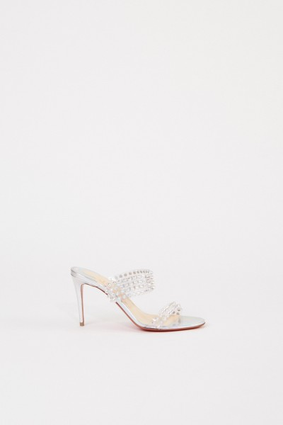 Christian Louboutin Mules 'Spikes Only 85' Transparent