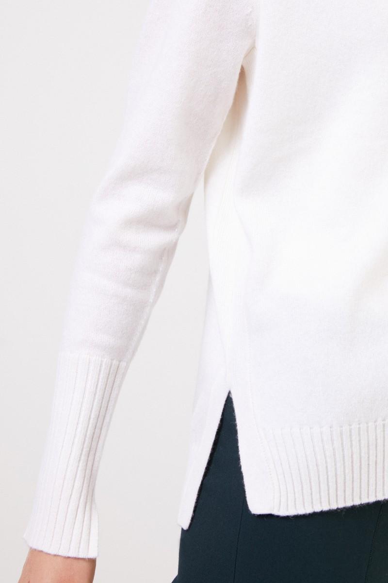 Allude Cashmere-Cardigan Weiß