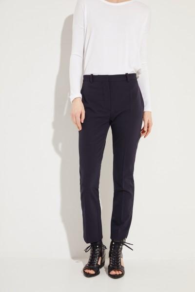 Klassische Hose 'Zoom' Marineblau