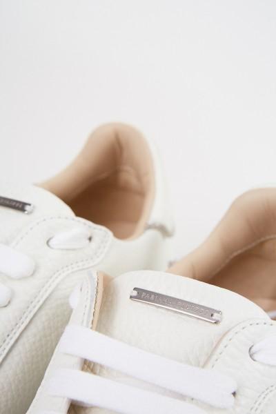 Fabiana Filippi Sneaker with pearl decoration White