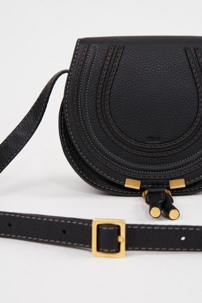 Chloé Shoulder Bag 'Marcie Saddle Small' Black