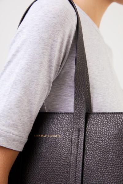 Brunello Cucinelli Tasche 'Tote' Grau