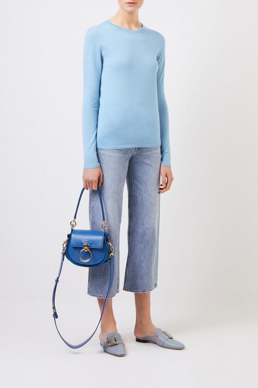 Iris von Arnim Feinstrick Cashmere-Cardigan 'Ivatsone' Blau