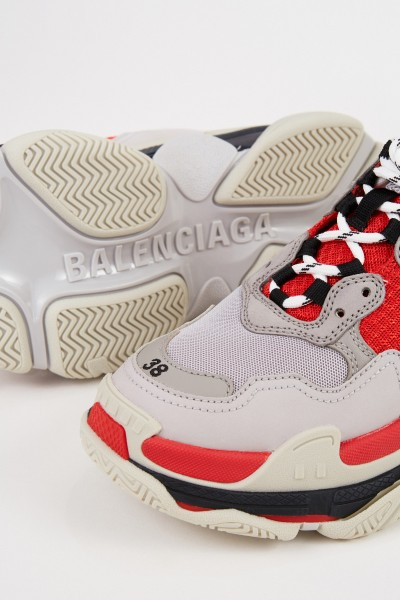 Balenciaga Sneaker 'Triple S' Red/Grey