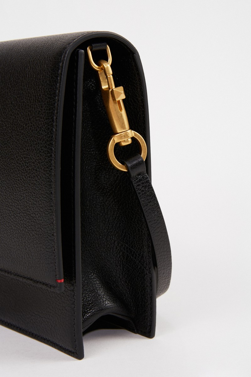 Valentino Tasche mit Logo-Detail Schwarz