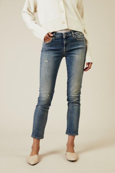 Jeans 'Pyper Cropped' Hellblau