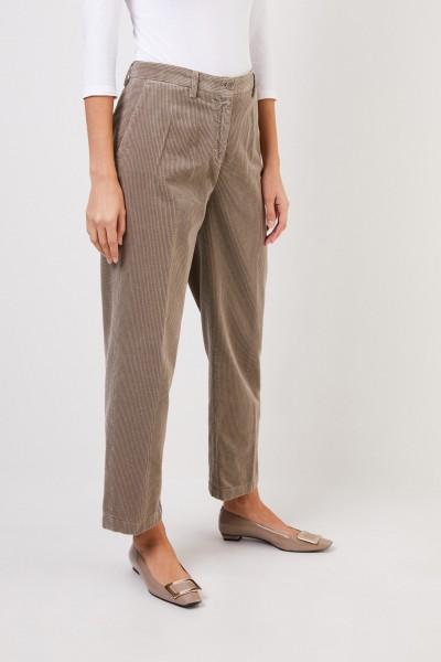 Aspesi Classic corduroy trousers Taupe
