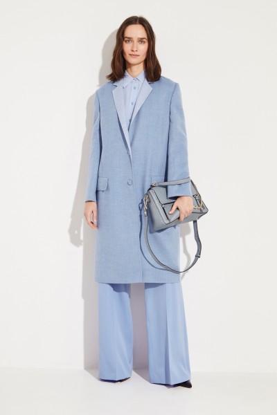 Agnona Cashmere coat Light Blue