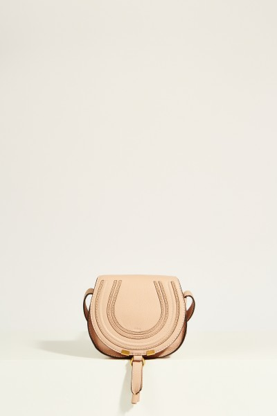 Umhängetasche 'Marcie Saddle Small' Blush Nude