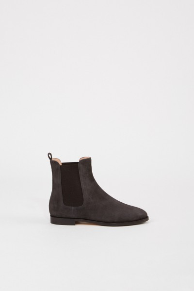 Unützer Leather suede Chelsea boots Grey
