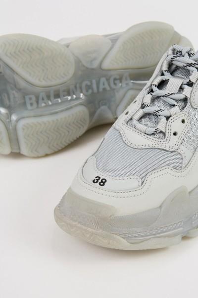 Balenciaga Chaussure de sport'Triple S' Grau