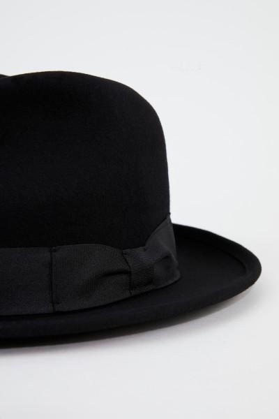 Ami Klassischer Woll-Hut Schwarz