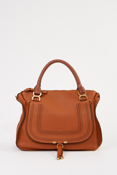 Chloé Handtasche 'Marcie Large' Tan