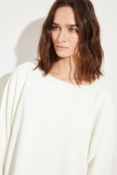 Strick-Pullover 'Naliah' Weiß