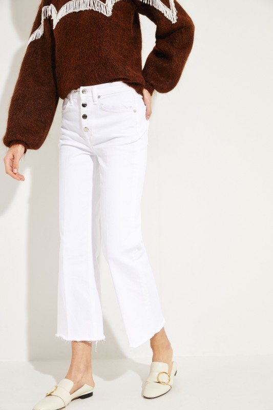 Ankle Jeans 'Justine' Weiß