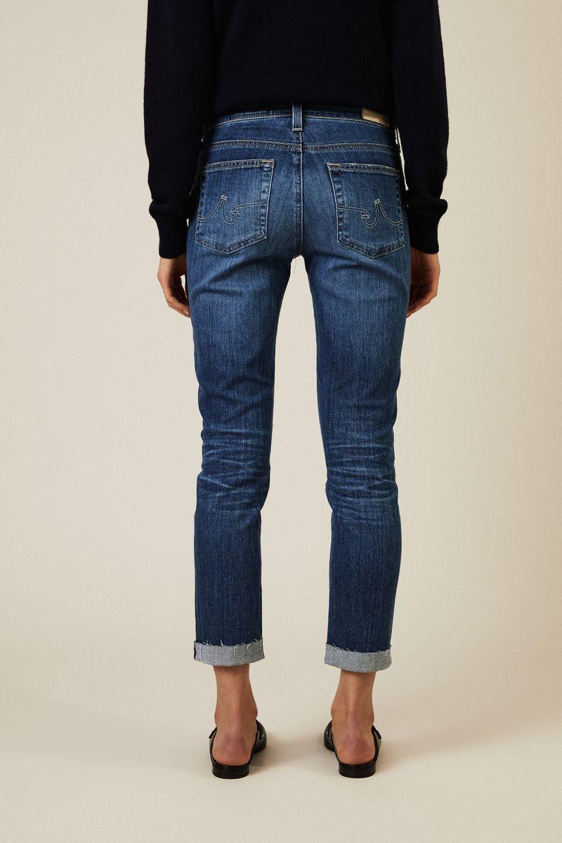 Skinny Jeans 'The Prima Roll-Up' Blau