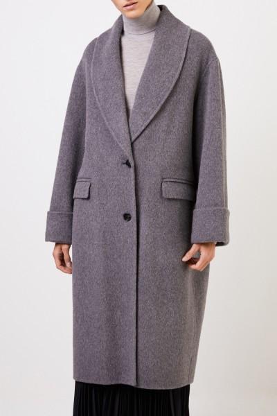 Joseph Wool alpaca coat Grey