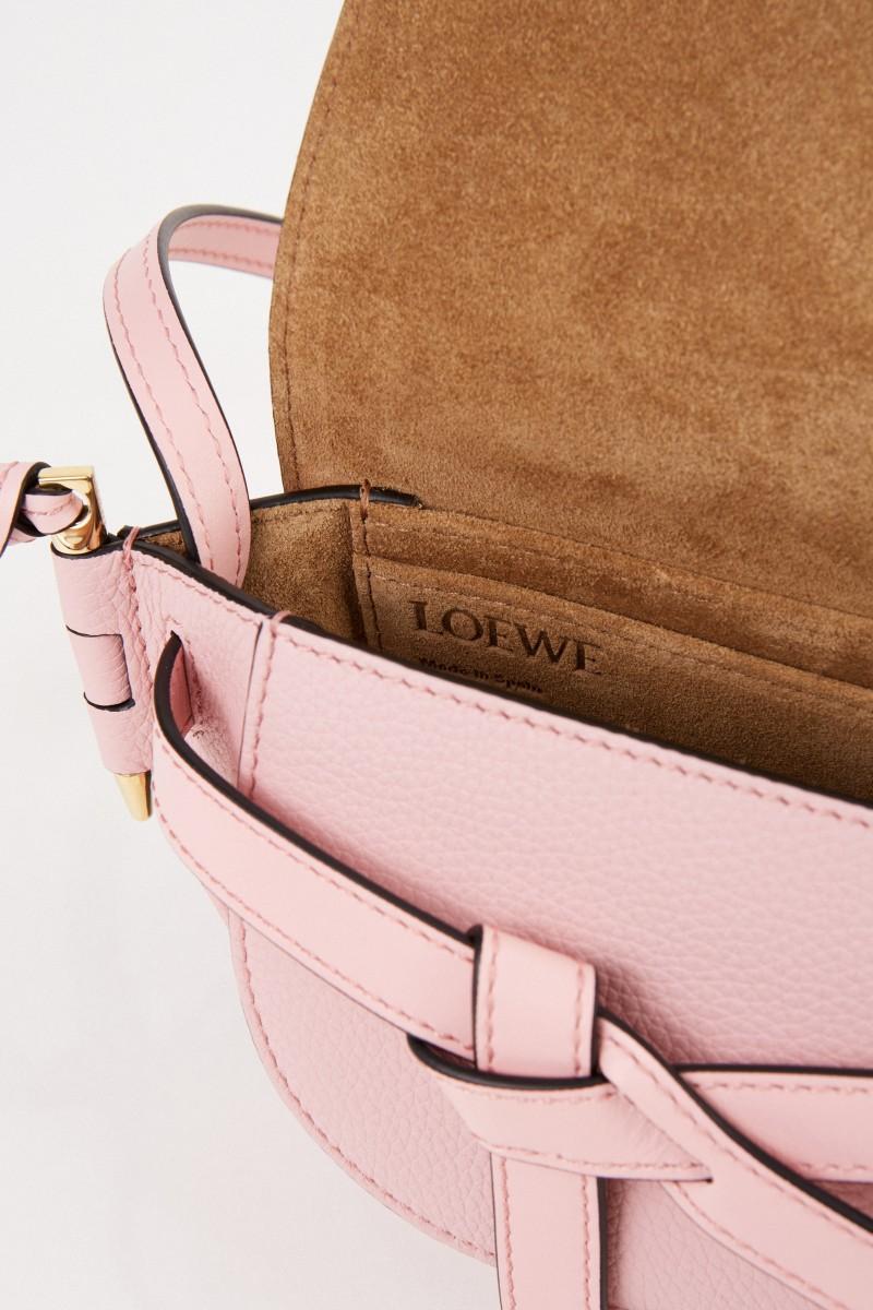 Loewe Shoulder bag 'Mini Gate' Pastel Pink