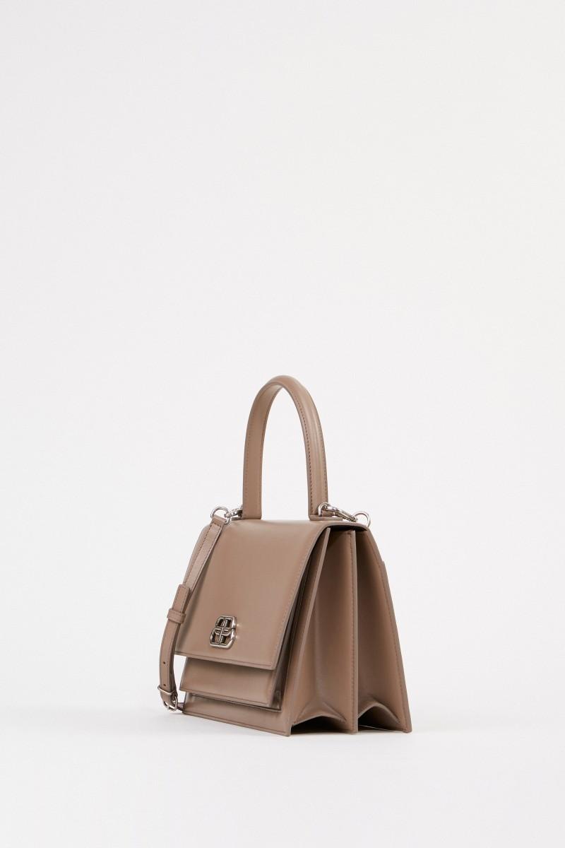 Balenciaga Leather bag 'Sharp S' Beige