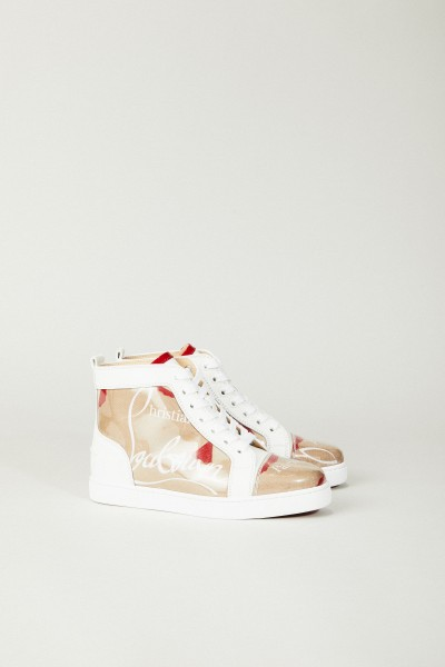 Sneaker 'Louis Woman Pvc' Weiß/Rot