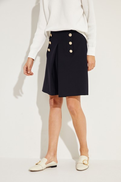 Short skirt 'Saily' with buttons Blue