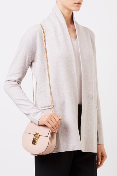 Fabiana Filippi Woll-Seiden-Cardigan mit Perlenverzierung Beige