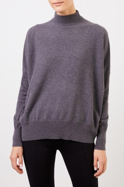 Colombo Cashmere-Pullover mit Turtleneck Grau