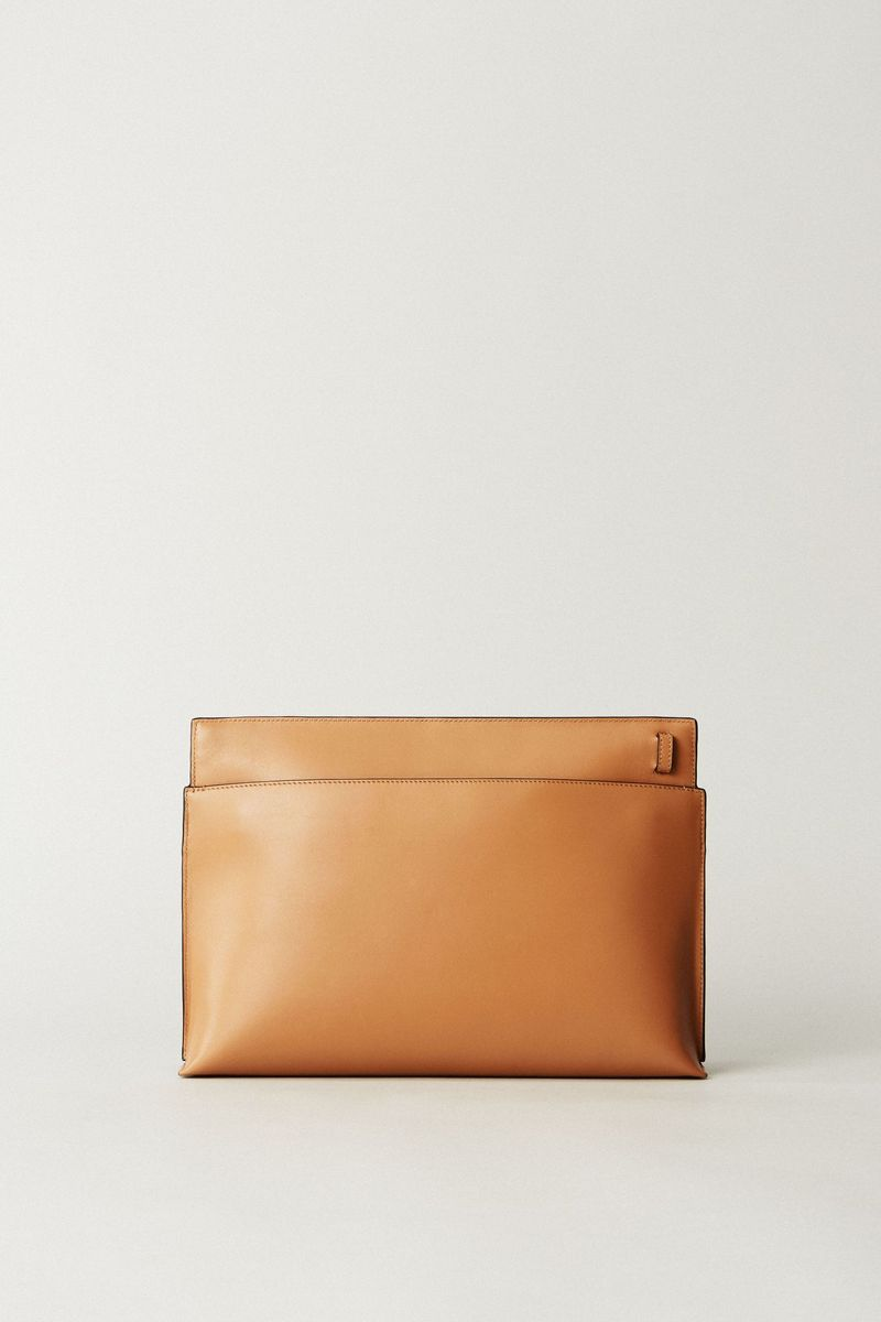 Clutch mit Applikation 'T Pouch' Multi
