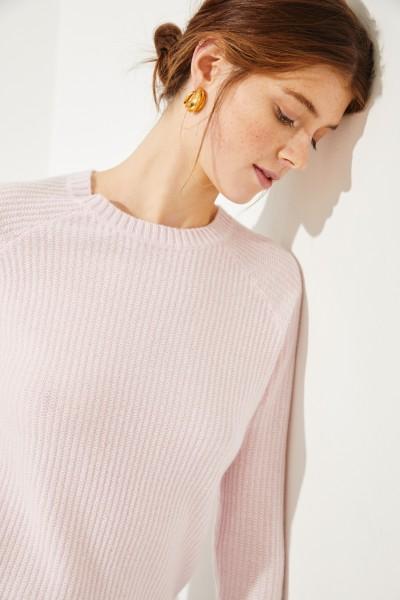Cashmere-Pullover Rosé