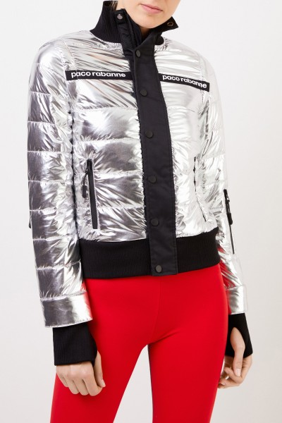 Paco Rabanne Multifunctional jacket Silver