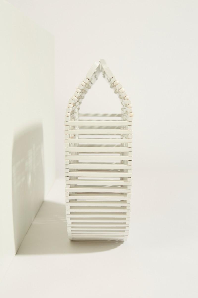 Tasche 'Gaias Ark Small' Weiß
