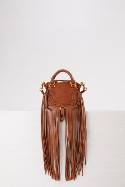 Chloé Handtasche 'Marcie Mini' Tan